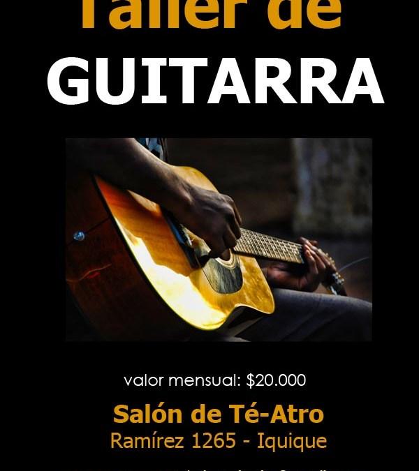 Taller de Guitarra en Iquique 2012 – Jóvenes y Adultos