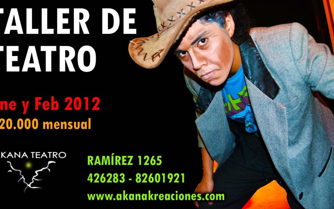 Taller de Teatro en Iquique 2012 – Jóvenes y Adultos