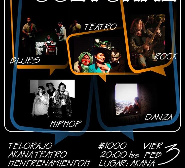 Rock + Blues + Hip-Hop + Teatro + Danza – Presencia Cultural