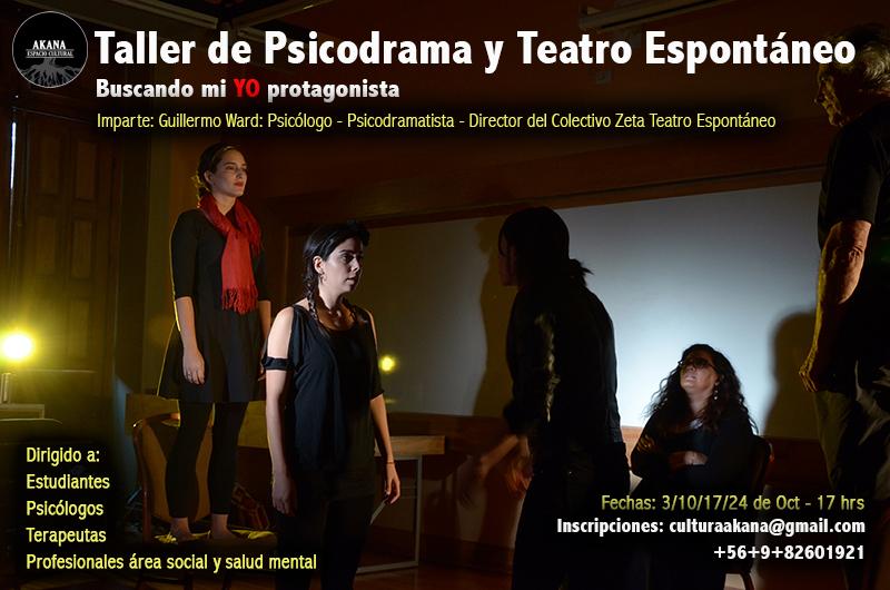 Taller de Psicodrama y Teatro Espontáneo – Iquique 2015