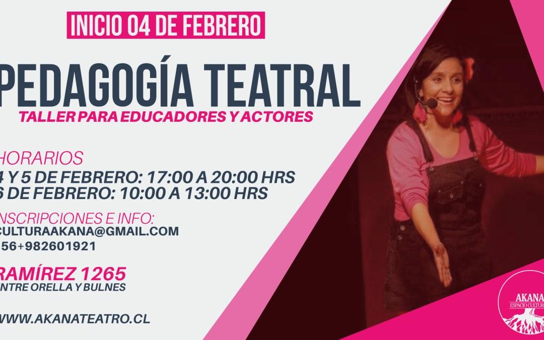 Taller Pedagogía Teatral – 2016