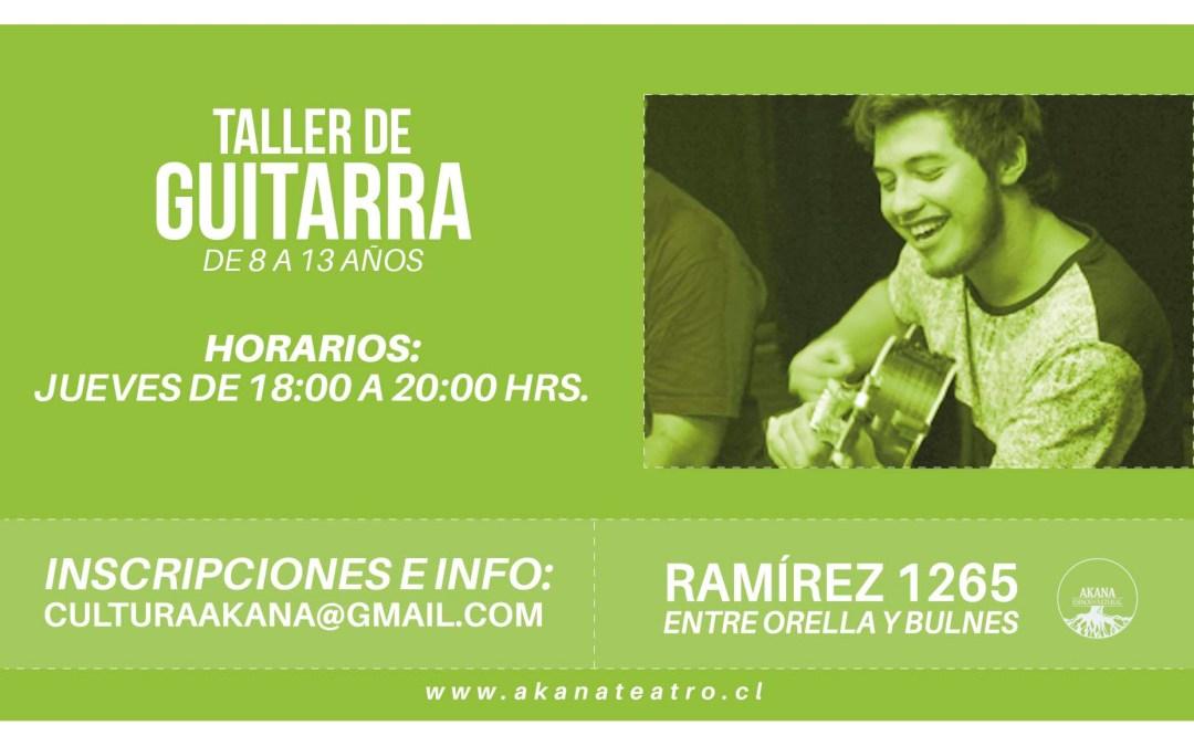 Taller de Guitarra – 2016