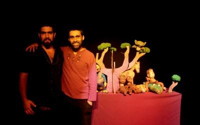 Público iquiqueño se reencantó con el teatro y títeres de Avuelopájaro