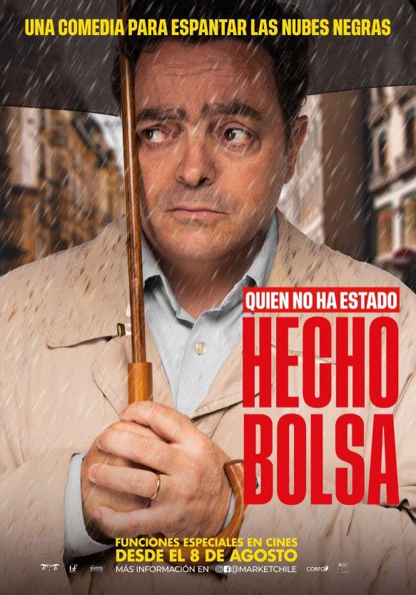 Afiche Hecho Bolsa - Felipe Izquierdo