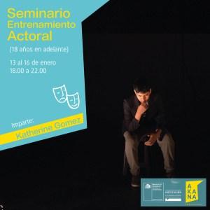 Seminario de Entrenamiento Actoral