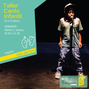 Taller de Canto Infantil