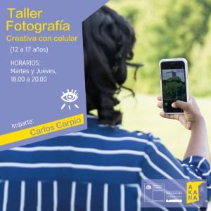 Taller de Fotografía con Celular