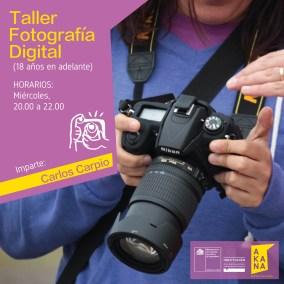 Taller de Fotografía Digital