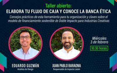 Emprende Escena: Nuevo taller de Flujo de Caja y Banca Ética