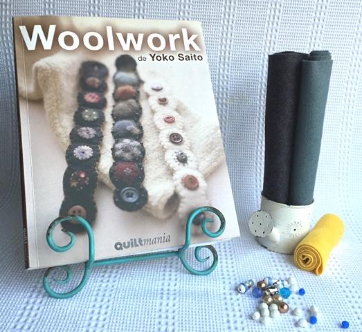 """""""Woolwork"""" de Yoko Saito, Editorial Quiltmanía"""