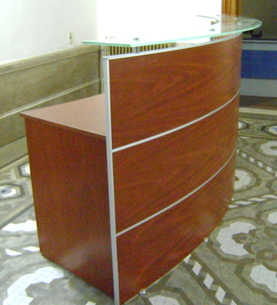 mueble de recepción caute antel