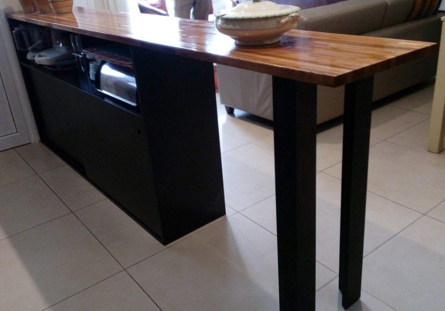 barra con mueble