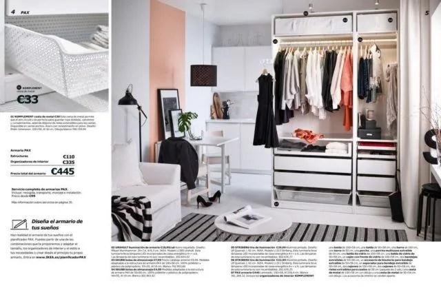 Catlogo armarios Ikea 2018  EspacioHogarcom