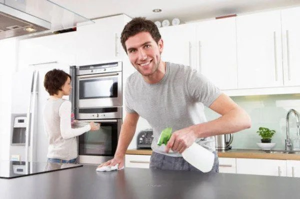 Como limpiar muebles de cocina  EspacioHogarcom