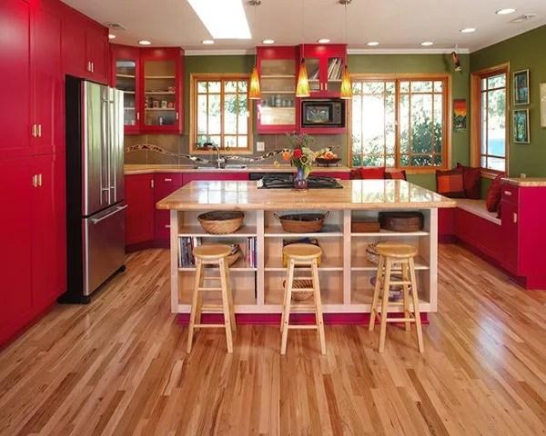 Ms de 25 fotos con ideas de cocinas rojas  espaciohogarcom