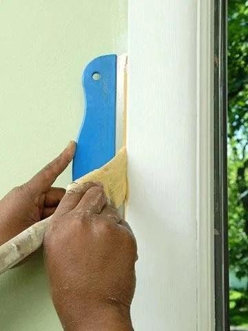 Cmo pintar marcos de puertas y ventanas  EspacioHogarcom