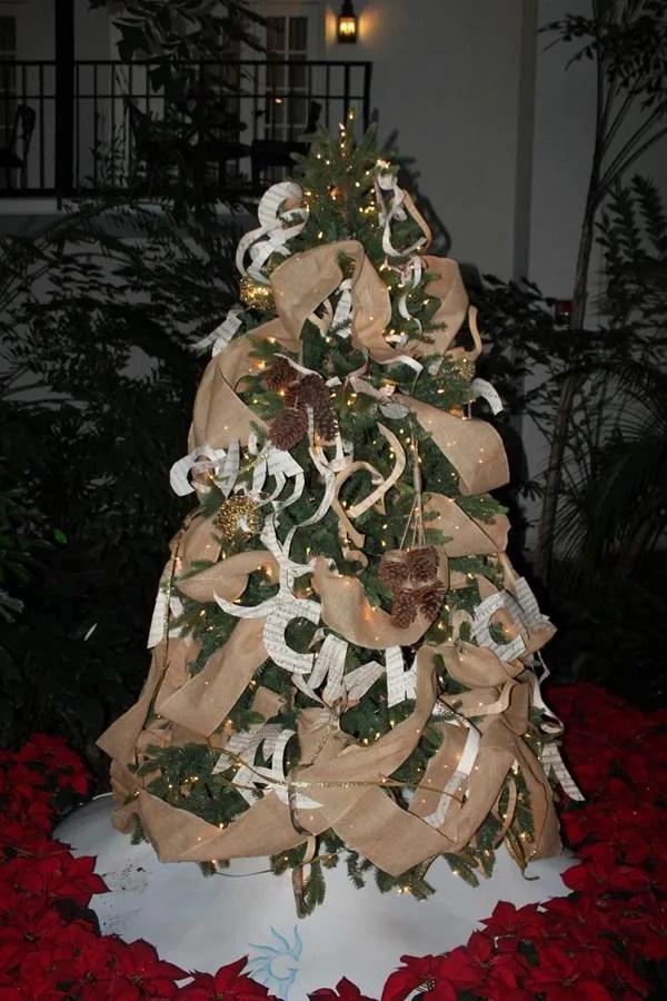 de 150 FOTOS de Decoracin de rboles de Navidad Modernos