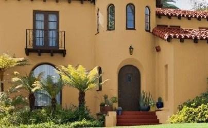 casas colores exterior pintura exteriores casa fachadas estilo beige pintadas pinturas fachada mexicanas google pintar campo coloniales modernos naranja ar