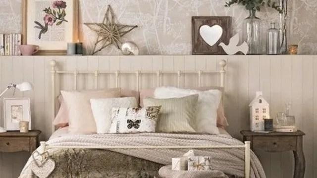 Cmo decorar dormitorios vintage 2018 con estilo  Fotos