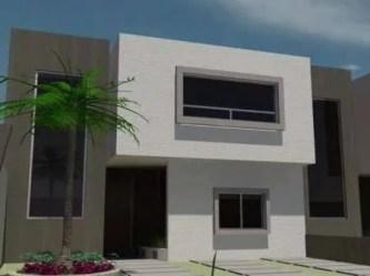 Fachadas Casas Color Gris Exterior Novocom top