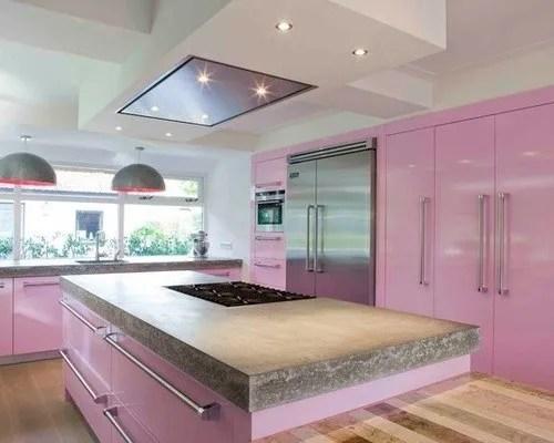 Ms de 25 fotos con ideas de cocinas rosas