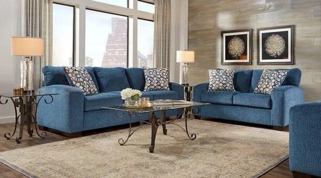 denim sectional sofa slipcovers modern sofas south africa más de 30 fotos salones clásicos - espaciohogar.com
