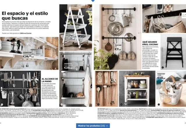 Ikea Kitchen Catalog 2019 Espaciohogarcom
