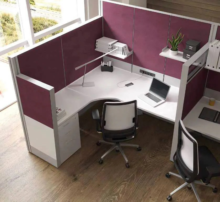 Cmo decorar una oficina Colores muebles de oficina y