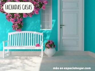 casa casas colores fachadas porch azul spruce exterior buat cara exteriores turquesa teras cantik dengan pintada bersih ini dan tips