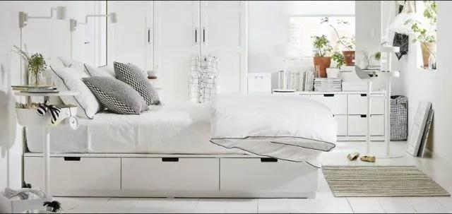 Dormitorios Blancos De Matrimonio Ikea Unpasticheorg