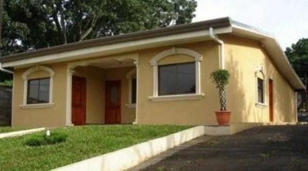 colores casas exteriores fachadas casa espaciohogar crema