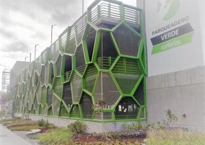 Parqueadero Verde Corferias