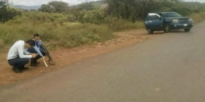 Corresponsal de La Antena sufrió atentado con impactos de bala en su vehículo