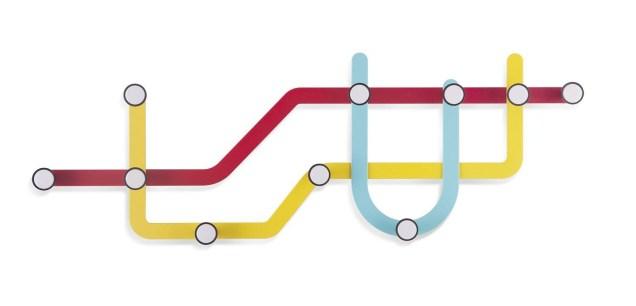 Perchero subway