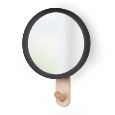 Perchero espejo