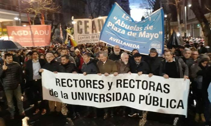 rectores docentes
