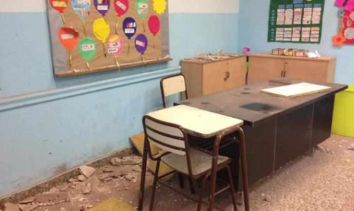 escuelas rotas en caba