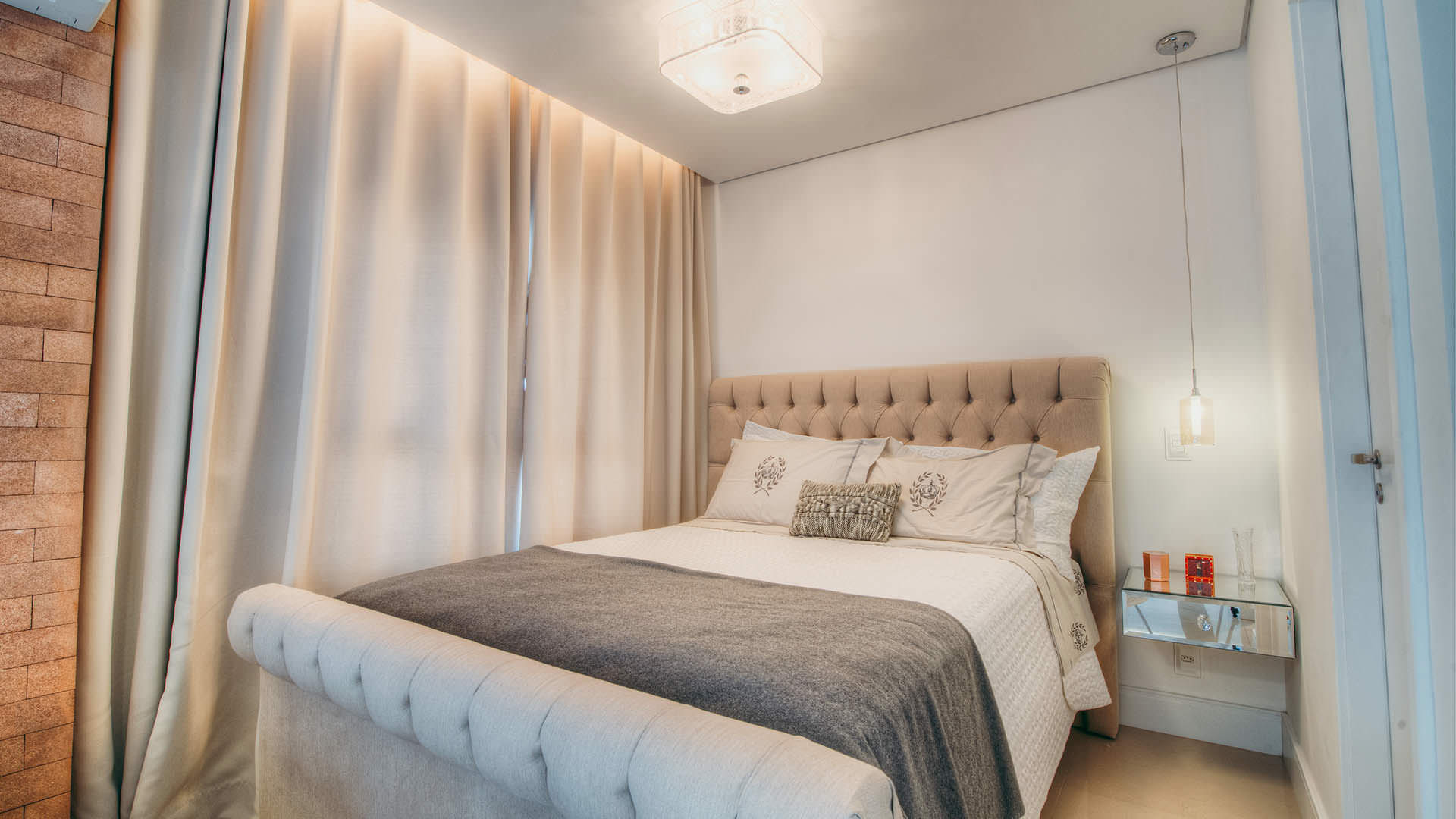 Apartamento pequeno com mveis planejados  Espao Pleno