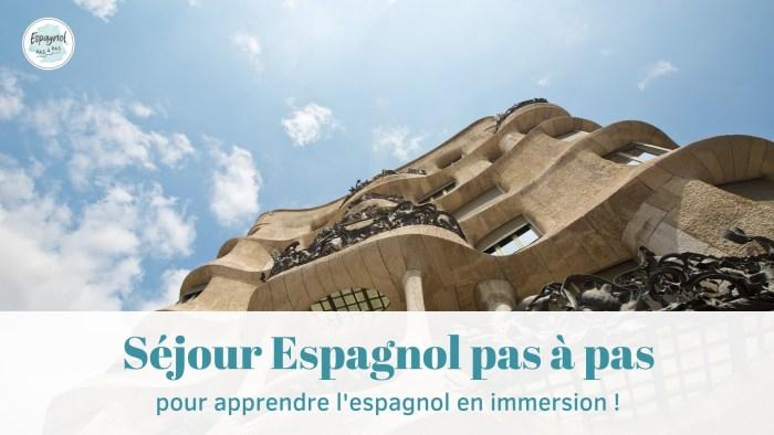 Séjour linguistique espagnol Barcelone