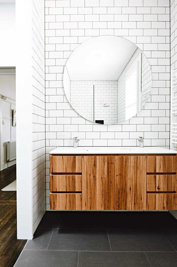 30 ideas de azulejo tipo metro para tu bao  Espaintegral