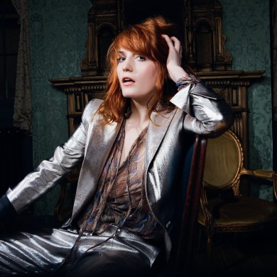 Florence Welch dos Florence and the Machine
