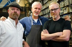 Jamie Hyneman, James Cameron e Adam Savage