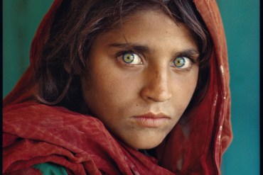 "Paquistão, ""Afghan Girl"" 1984"