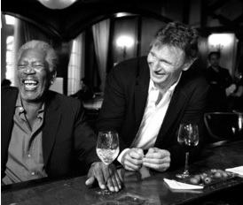 Morgan Freeman e Liam Neeson