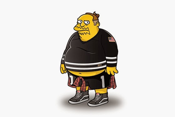 The-Simpsons-Illustrated-in-Streetwear-01