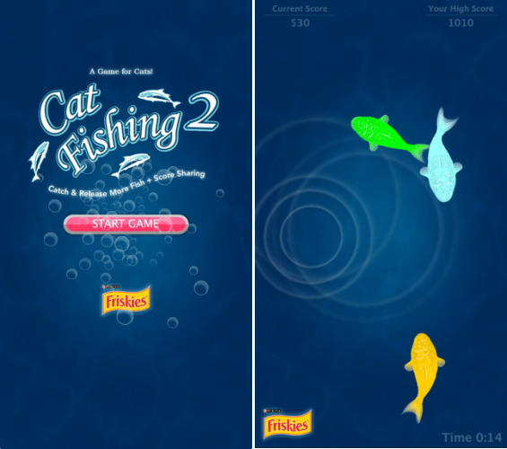 Apps efianas 43 apps para os donos de c es e gatos for Friskies cat fishing