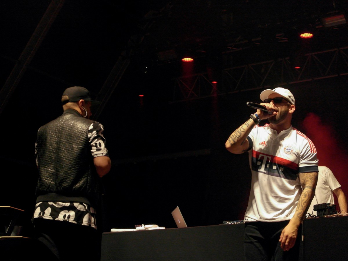 Regula com Sam the Kid no Palco Sumol