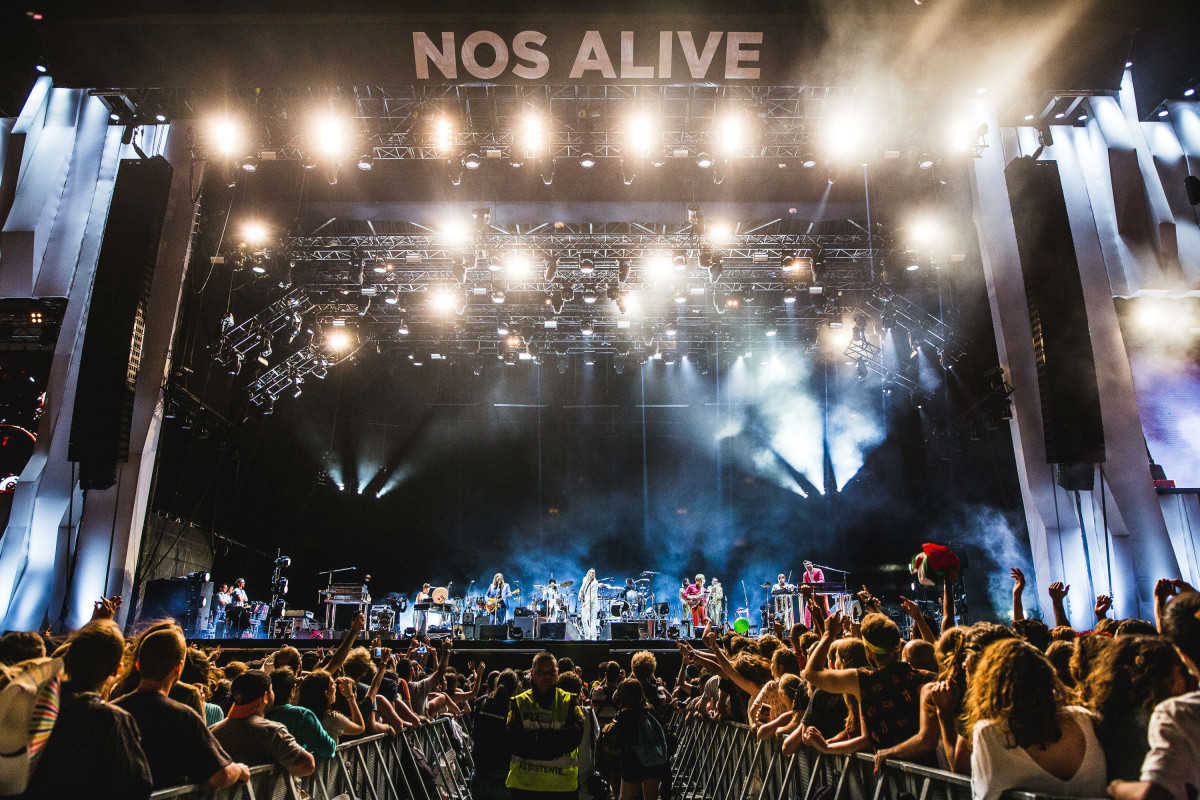 At The Drive In confirmados no NOS Alive