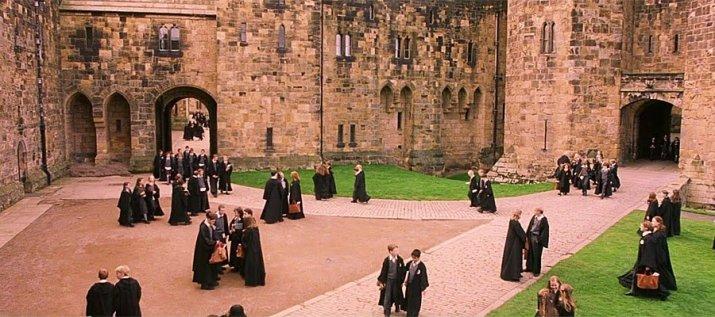 Castelo Alnwick, Inglaterra