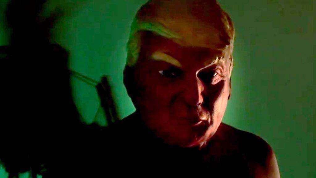 Donald Trump; máscara; AHS